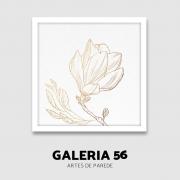 Quadro Decorativo | Arte Flor minimalista