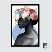 Quadro Decorativo | Arte Flower Woman