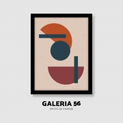 Quadro Decorativo | Arte Geométrico abstrato