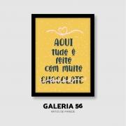 Quadro Decorativo | Arte Muito chocolate