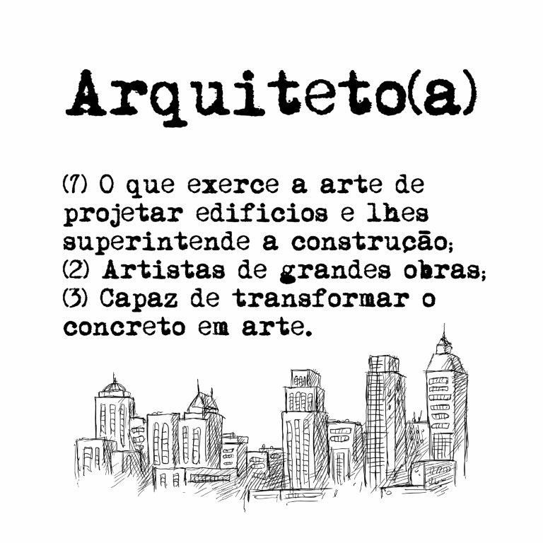 Quadro Decorativo | Arte Profissão Arquiteto (a)
