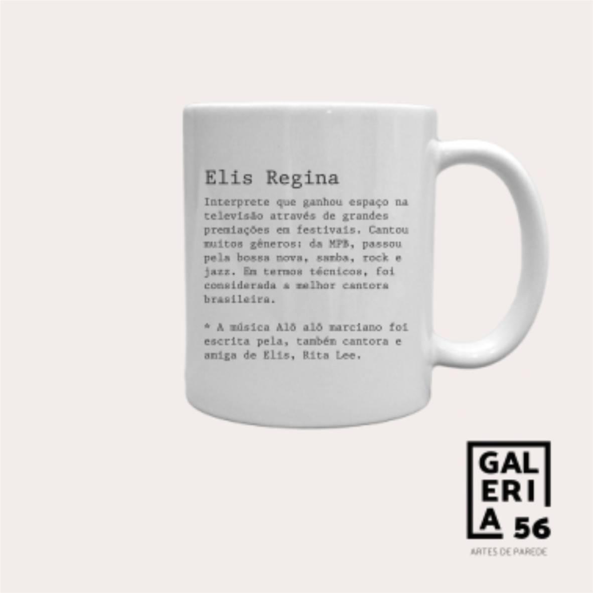 Caneca Elis Regina - Colagens