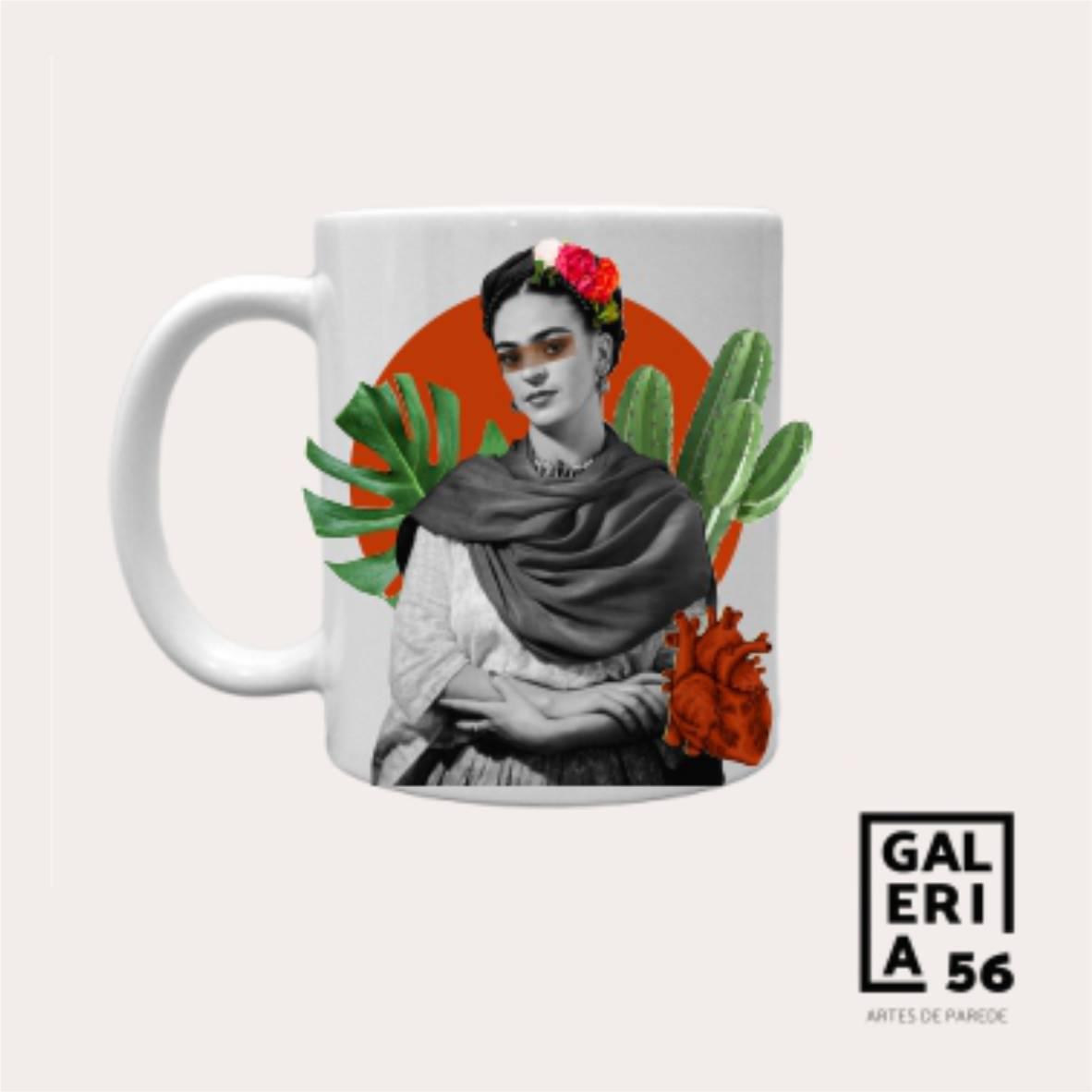 Caneca Frida Kahlo - Colagens