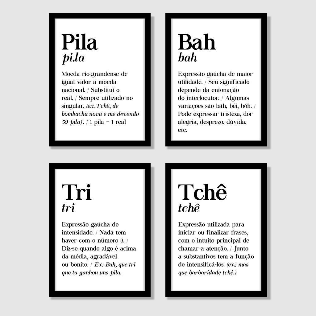 Composição Decorativa | Composição Arte Definições Gaúchas