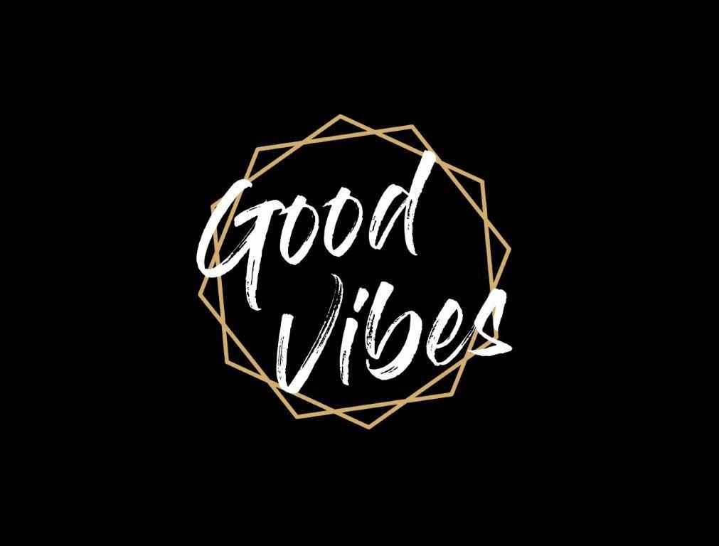 Composição Decorativa| Composição Good Vibes - 04 Quadros