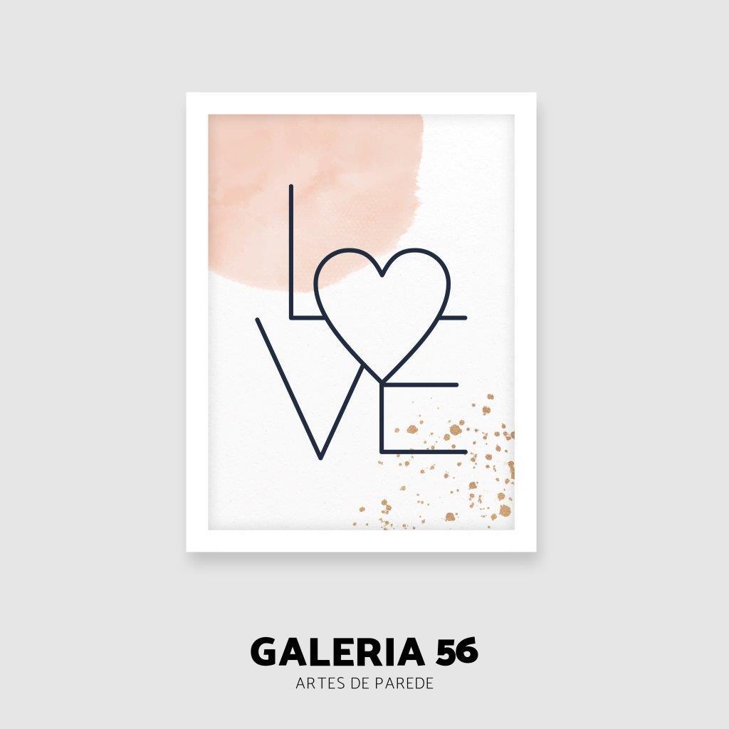 Composição Decorativa | Composição Love Nós