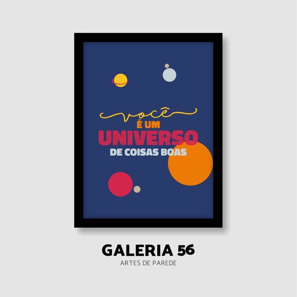 Quadro Decorativo   Arte Você é um universo