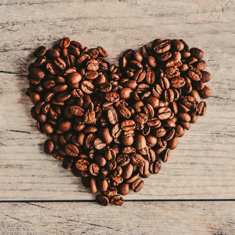 Quadro Decorativo   Arte Coração de Café.