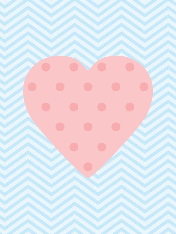 Quadro Decorativo | Arte Coração de poa