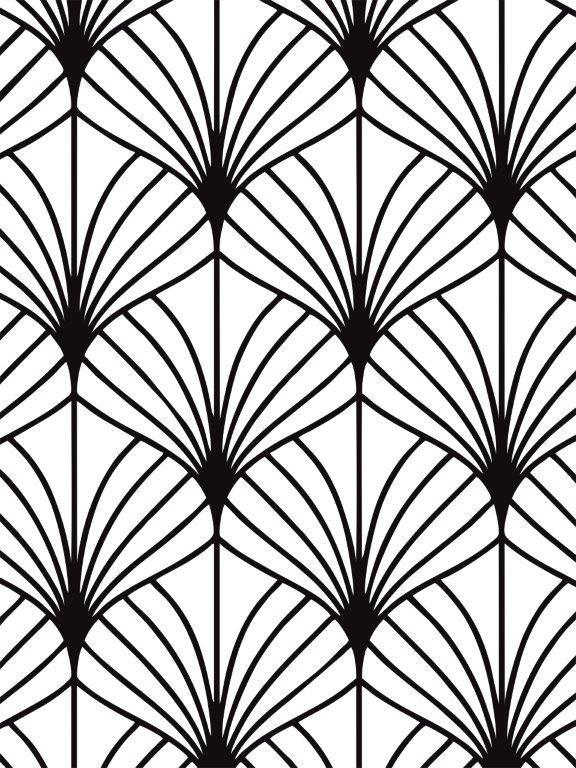 Quadro Decorativo | Arte Folhas Geométricas.