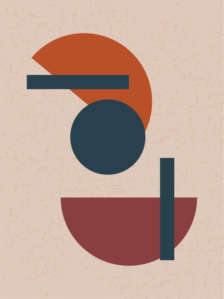 Quadro Decorativo   Arte Geométrico abstrato