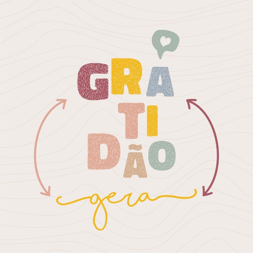Quadro Decorativo   Arte Gratidão gera gratidão