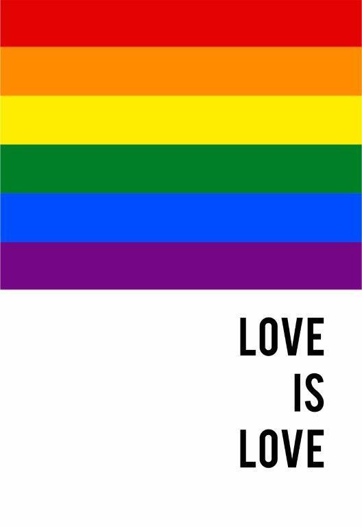 Quadro Decorativo | Arte Love is love