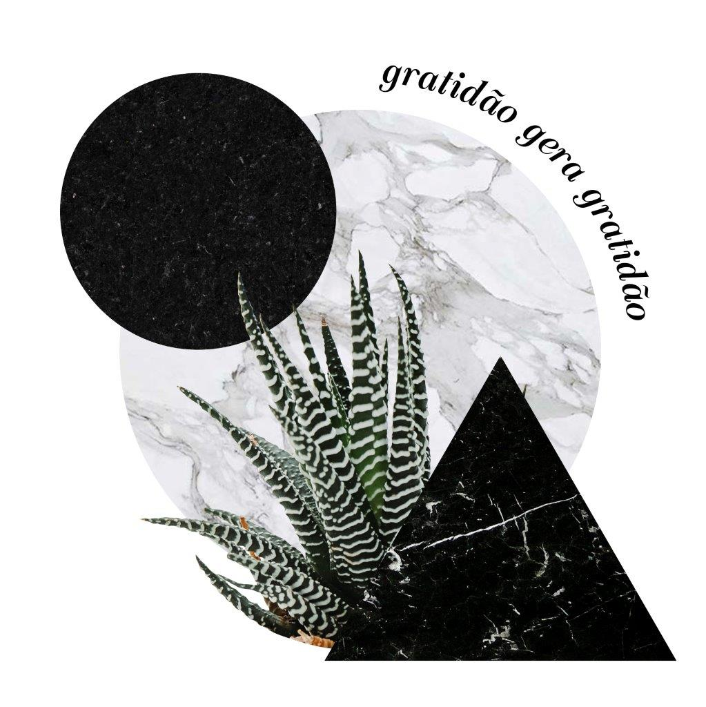 Quadro Decorativo | Colagem Gratidão gera gratidão