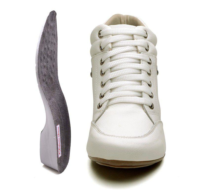 Bota Sport Clube do Sapato de Franca Top Confort Branca