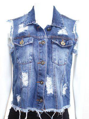 Colete Jeans Feminino - NetStore - Fashion 36f949bb2f7