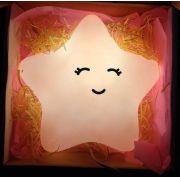 Luminária Abajur Estrela Led Fluorescente 100/220 V Branca