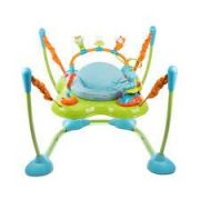 Assento Jumper Play Time Azul Com Luz E Sons Atividades Safety