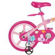 Bicicleta Infantil Gatinha Aro 14 - Bandeirante Rosa