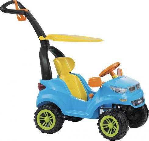Andador Push Car Easy Ride Azul  Biemme