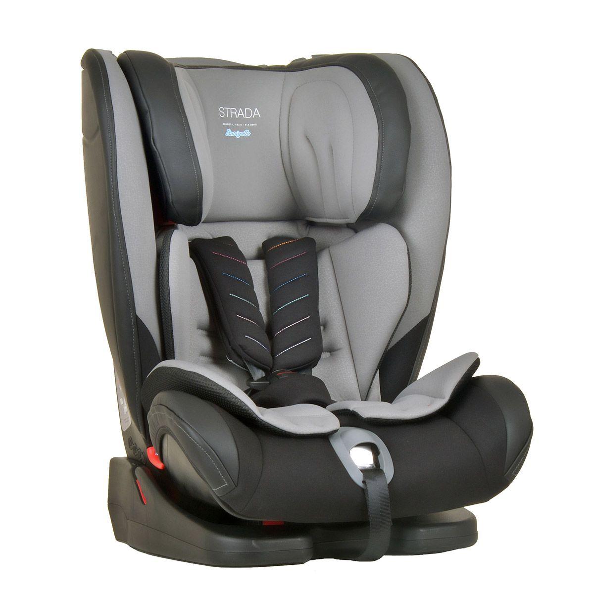 Cadeira Auto Bebê Strada 9-36kg Gray Black - Burigotto