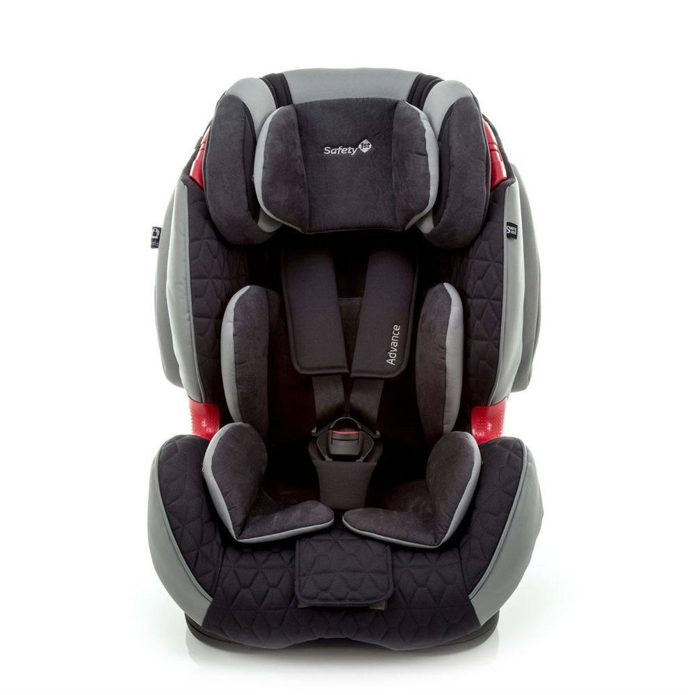 Cadeira Auto Reclinável Safety Advance Cinza 9 A 36 Kg