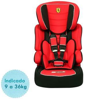 c103dbb87f613 ... Cadeira Auto Ferrari Vermelha - Beline SP para Crianças de 9kg até 36kg  - Bububebe Store ...