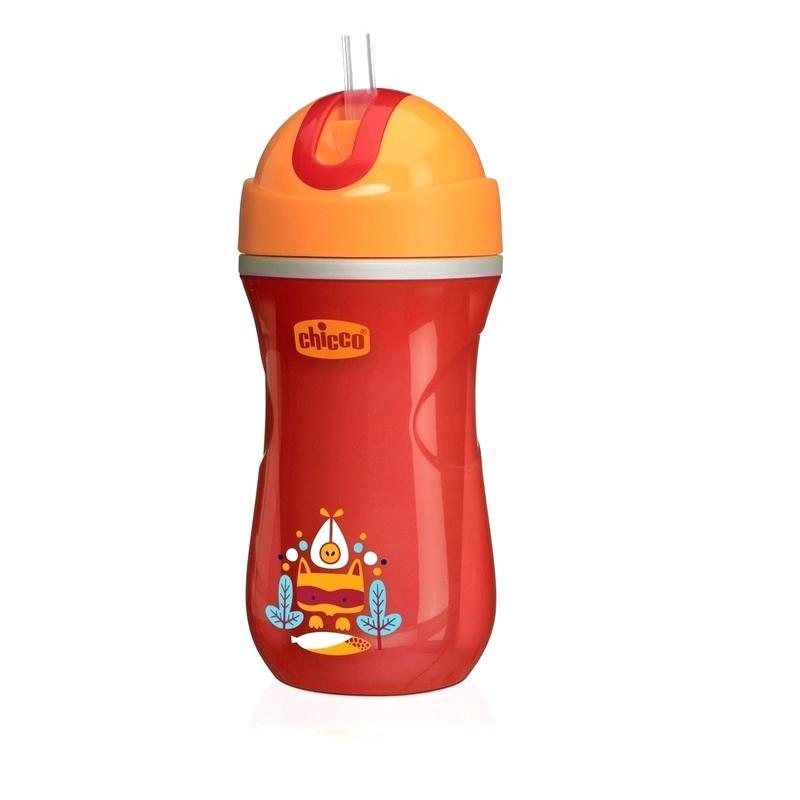 Copo Infantil Térmico Sport Cup Vermelho 266ml 14m+ Chicco