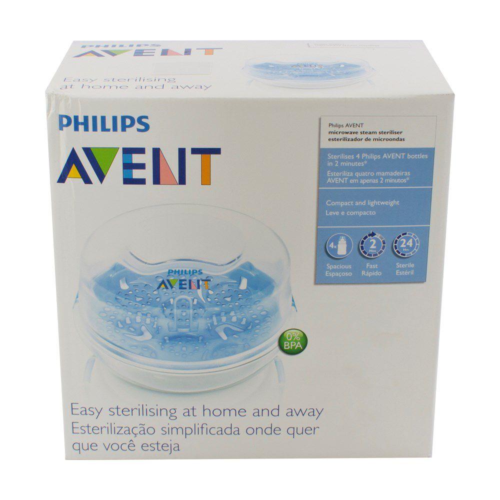 dda84a497 ... Esterilizador de Mamadeiras Vapor Microondas Philips Avent - Bububebe  Store