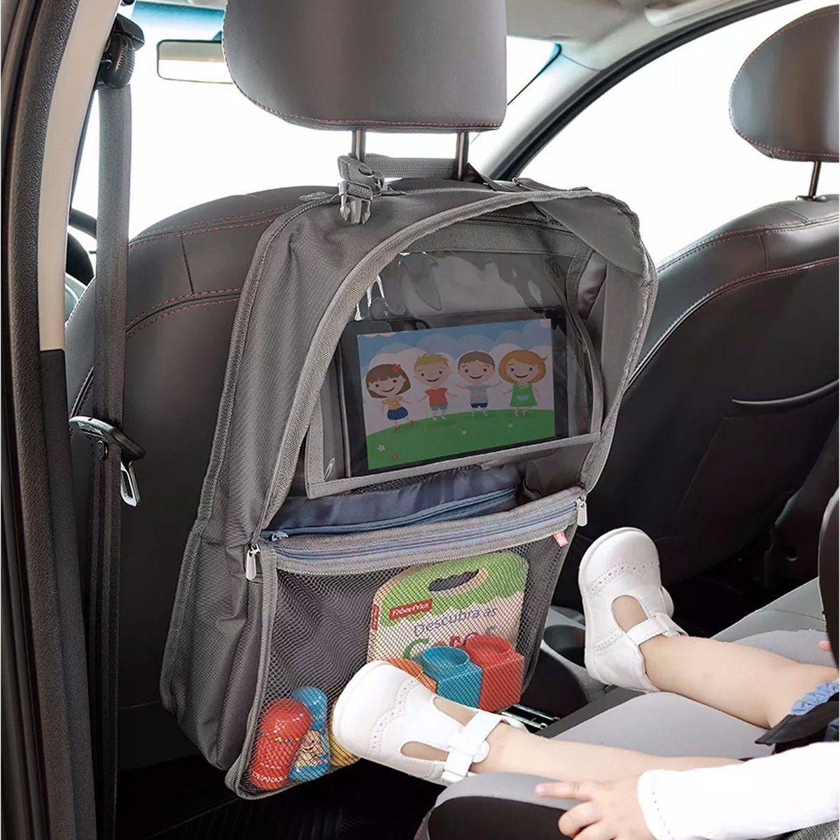 Organizador para carro com compartimento para tablet Fisher Price - BB318