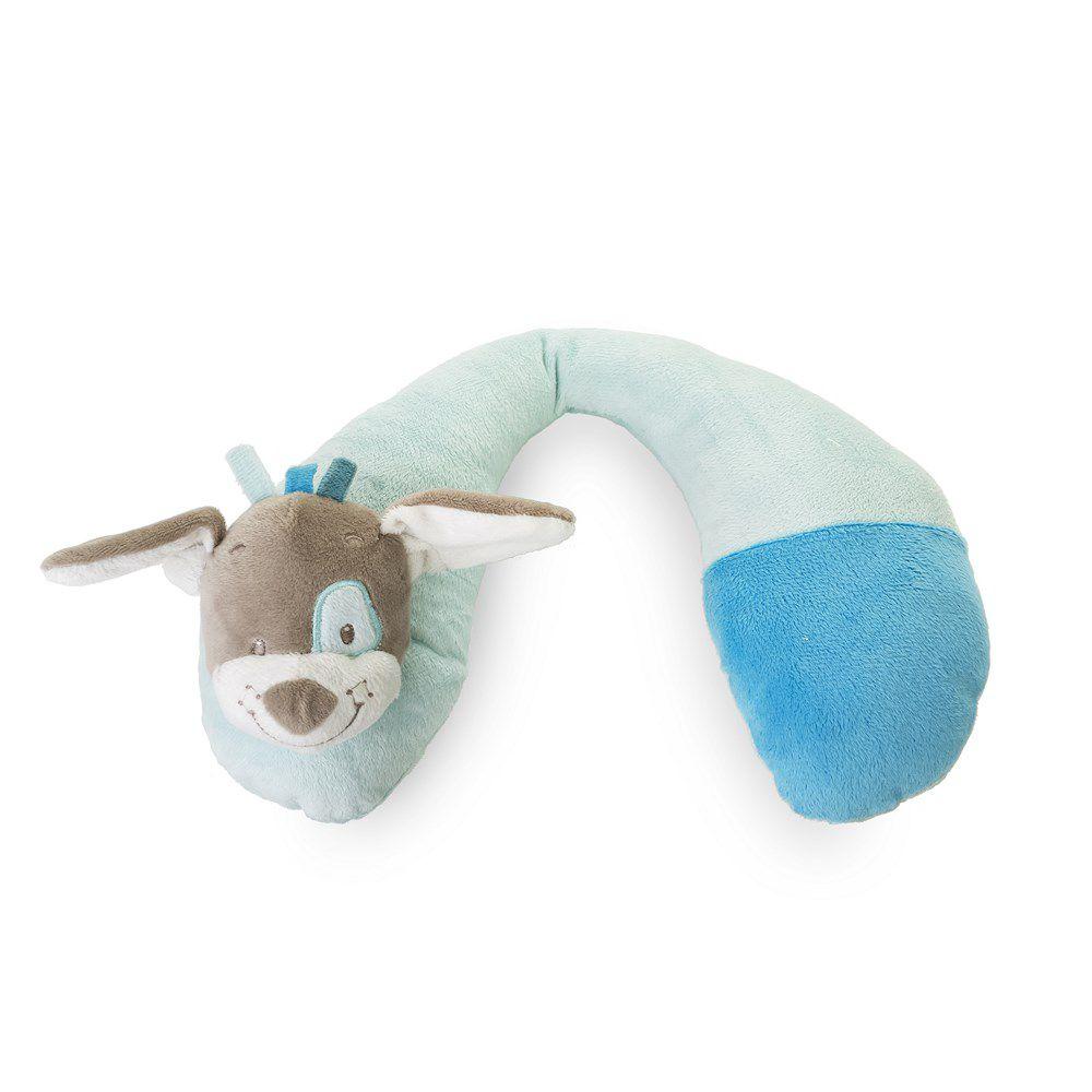 Suporte Pescoco Cachorro Azul KaBaby