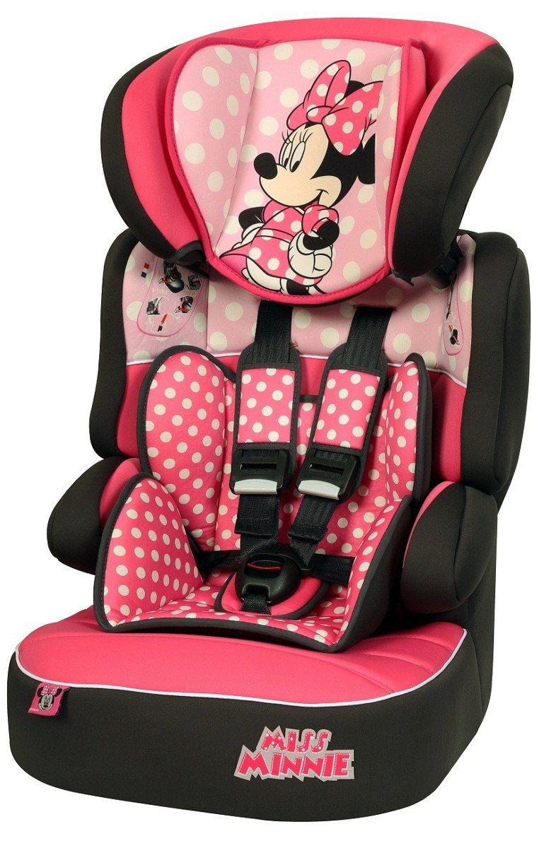 c28cdd49bff0d Cadeira Auto Disney Minnie Mouse Rosa - Beline SP para Crianças de 9kg até  36kg ...