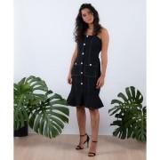Vestido Raquel Linho Elastano