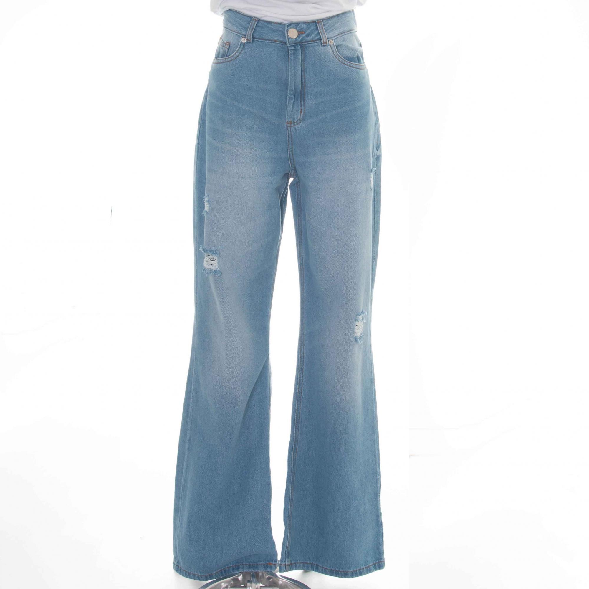 Calça Wide Leg Bárbara Jeans