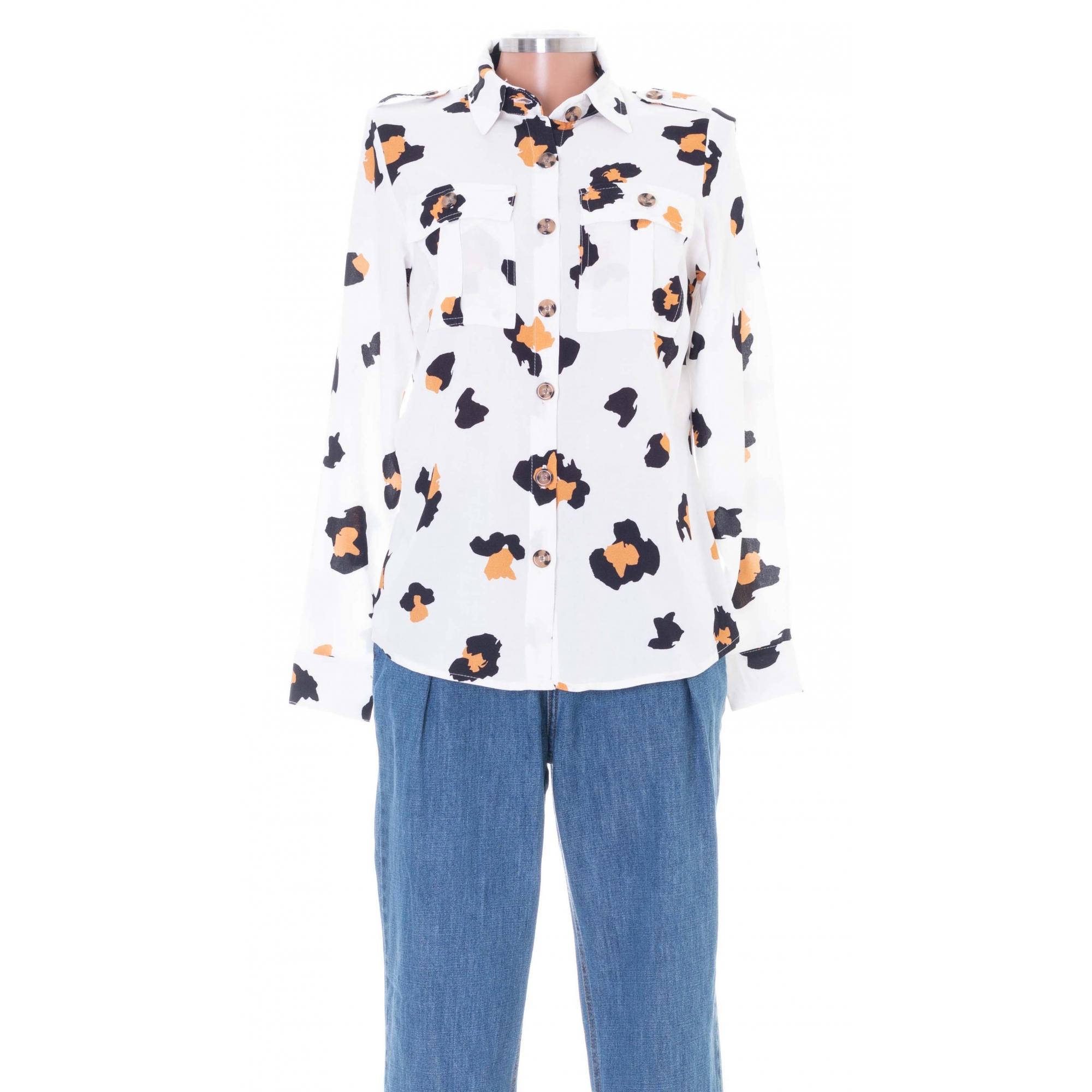 Camisa Dandara Animal Print