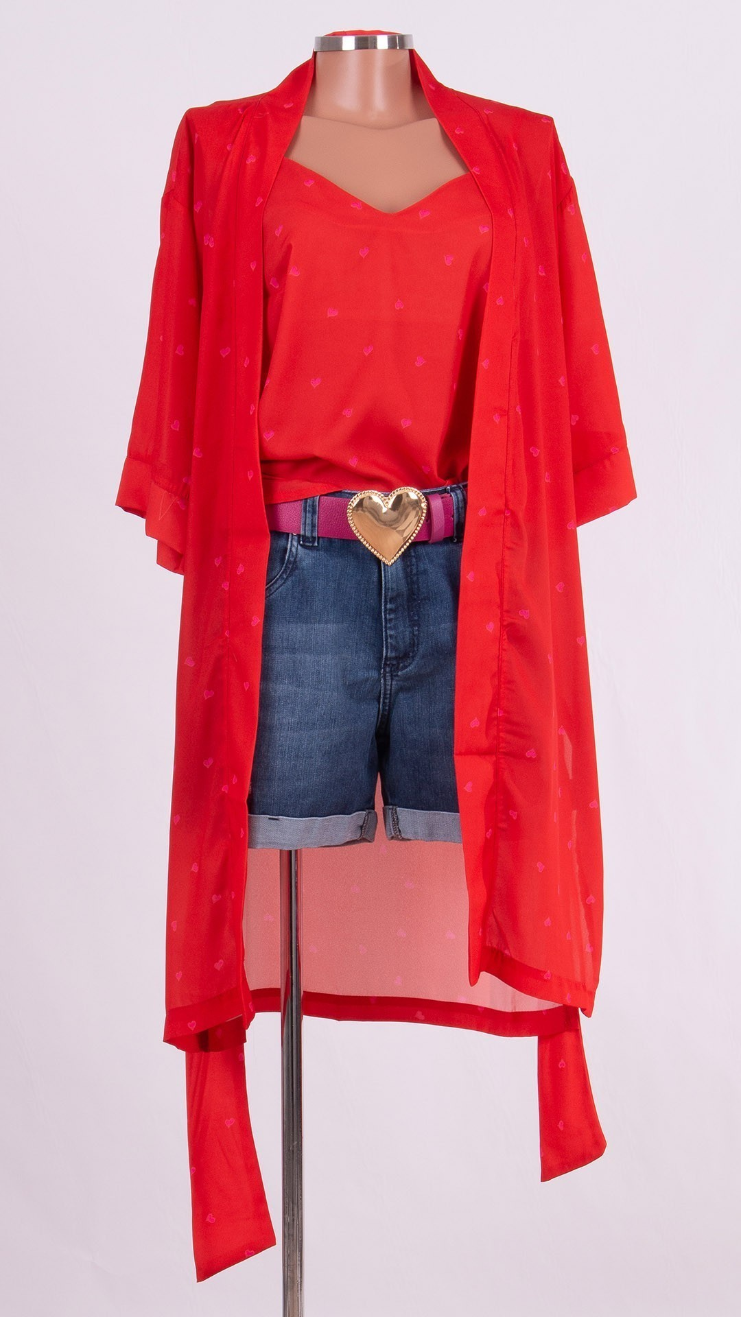 Kimono com Camiseta