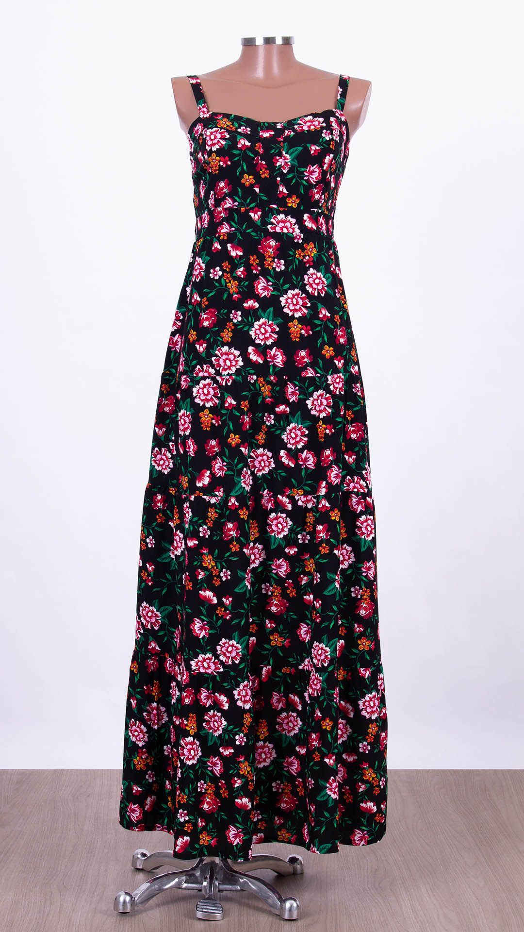 Vestido Longo Veneza Floral Libert