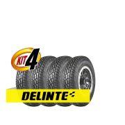 Kit 4 pneus 215/75 Aro 15 Delinte Dx-10 Bandit A/T 100/97S 6PR