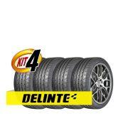 Kit 4 pneus Delinte DH2 225/40R18 82W