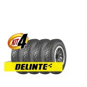 Kit 4 pneus Delinte DX10 Bandit A/T 255/60R18 112H