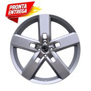 kit 4 Rodas Aro17x7 Strong 4x100 Prata Zk-610