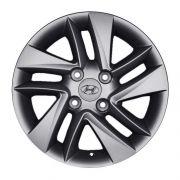 Kit 4 Rodas Aro 14x6 Hyundai HB20 4x100 GF Krmai R43