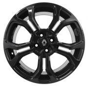 Kit 4 Rodas Aro 14x6 Renault Sandero RS 4x100 Black Krmai M7