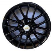 Kit 4 Rodas Aro 15x6 Gm Esportiva  4X100 Et40 Black EW B20
