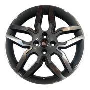 Kit 4 Rodas Aro 17x6 Fiat Ideia Sport 4x98 GD Zk-530