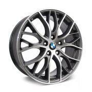 Kit 4 Rodas Aro 17x7 BMW 335i Biturbo 5x100 GD  Krmai R54