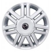 Kit 4 Rodas Aro 17x7 Gm Astra CD 4X100 Prata Zk-590