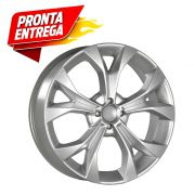 Kit 4 Rodas Aro 17x7 Honda New Civic 5x114 Prata Krmai R29
