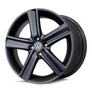 Kit 4 Rodas Aro 17x7 Vw Fox Highline 5x100 GF Krmai R65