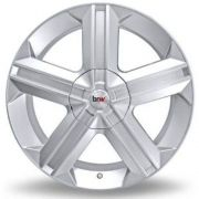 kit 4 Rodas Aro 18x6 Astra Gsi 4X100 Prata BRW 180